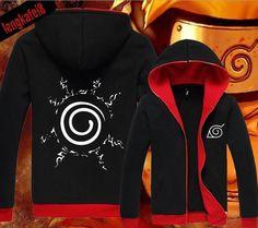 Anime Naruto UZUMAKI NARUTO Clothing Hooded Sweatshirt Jacket Cosplay Hoodie