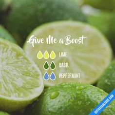Give Me a Boost - Essential Oil Diffuser Blend