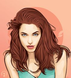 make Vector portrait of you by nuporpae