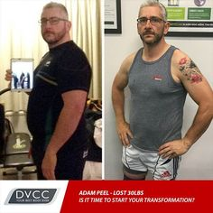 Check out the amazing progress Adam has made.  Our 6 week transformation program is still open for registration don't miss your chance.  Here is the link: http://hubs.ly/H05Hnn10  #dvcc6weektransformation #DVCC #fatloss #transformation #training #fitness #health #personaltraining #weightloss