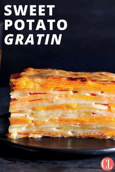 This healthy makeover over a holiday favorite benefits from the addition of sweet potatoes and evaporated milk. This lighter potato gratin is sure to be loved. | Cooking Light