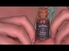 DIY: Jack Daniels Bottle Charm TUTORIAL!