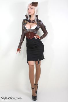 Here at SteamGirl.com, the main focus is on steampunk erotica. It is, by and large, what we do. But while steampunk is our one true love, that doesn't mean there can't be some exploration! And so with...
