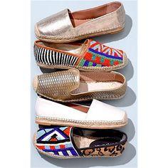 Sam Edelman 'Lida' Espadrille Flat on Mercari Shoe Boots, Shoes Heels, Shoe Bag, Cute Shoes, Me Too Shoes, Look Fashion, Fashion Shoes, High Heel Sneakers, Types Of Shoes