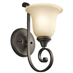 Kichler Monroe 1 Light Wall Sconce - 6W in. Olde Bronze