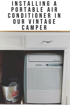 Vintage Camper Air Conditioner