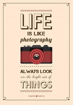 Vintage typografie poster Gratis Vector