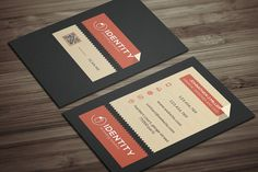 Check out Creative Business card by CodePower on Creative Market