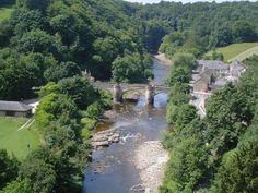Richmond & River Swale, Yorkshire