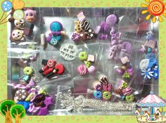 braccialetti charms fimo polimery clay by Barbara Buceti BB Mode To Play