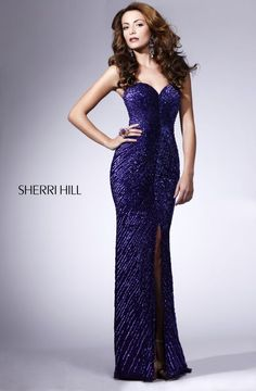 Sherri Hill long length evening party prom dress