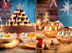 #Weihnachtstorte #Torte #Weihnachen #dekorieren #cake #gateau #profiterol #Tree #xmas #christmas