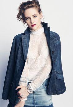 Kristen Stewart for Marie Claire US August 2015