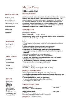 Resume Samples The Ultimate Guide LiveCareer Resume Examples Resume Example  Administrative Assistant Casaquadro Com Example Secretary  Resume For Secretary