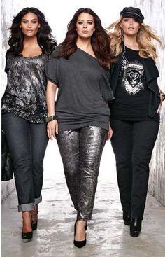 Plus Size Models | Source:  Pinterest                                                                                                                                                                                 More