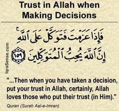 Trust in Allah..Quran