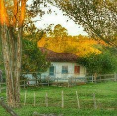 ⁀⋱‿ *Bom dia!* À beira do caminho uma casa humilde Mas sua beleza remete a simplicidade Casa de pouso bom, de sonhos vividos De um geração aguerrida, ali nascidos Antiguidade que o tempo vai ruminando Ali contente, o caipira a vida vai levando ⁀⋱‿ ✍ Luciano Bueno
