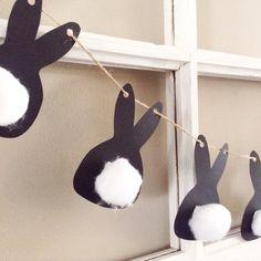 #diy #paasslinger, alvast een beetje paassfeer in huis. #pasen #woondecoratie