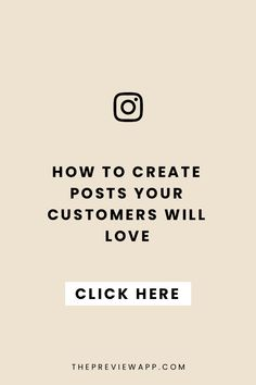 Create Posts Customers will love Content Marketing Tools, Social Media Marketing, Business Tips, Online Business, Instagram Marketing Tips, Online Entrepreneur, Social Media Tips, How To Start A Blog, Instagram Posts