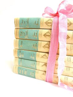 Jane Austen Book Set Complete Works Thomas Nelson And Sons Vintage Books