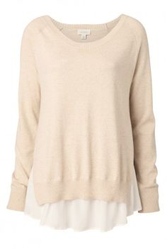 Witchery Silk Underlay knit