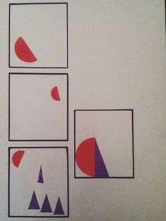 История из геометрических фигур