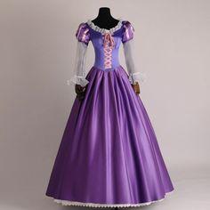 Rapunzel dress Rapunzel costume adult/girl by FloraDesignsLLC Princess Fancy Dress, Princess Ball Gowns, Disney Princess Dresses, Cinderella Dresses, Princess Costumes, Girl Costumes, Costumes For Women, Cosplay Costumes, Princess Party
