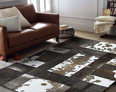 Kohud patchwork matta 160 x 195 cm