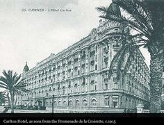 InterContinental #CarltonCannes 1915