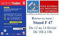 Salon de l'Apprentissage & de l'Alternance | GARAC - Le Campus de l'Automobile
