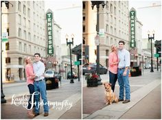 Engagement Session, Engagement, Tennessee, Knoxville, Market Square, Graffiti, Downtown Knoxville, Tennessee Theatre, Photos by Kayla F Photography