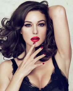 Monica Bellucci has been announced as the new face of Dolce & Gabbana makeup.