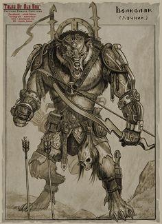 Tales Of Old Rus - Wolkolak Archer