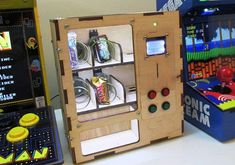 DIY Arduino Based Vending Machine Vending Machines are there since very long time, and they have changed much with the time. Vending Machine is very cool and useful product to dispense various items like foods, chocolates, prizes etc., just by...