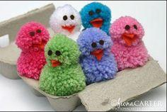 DIY Pâques – activités manuelles : chocolats, oeufs, lapins, poules … occupez vos enfants à Pâques   Plus de Mamans