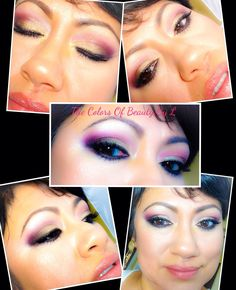 Tutorial using the Coastal scents REVEALED2 palette !