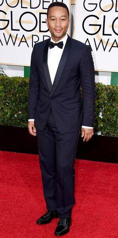 John Legend in a black tuxedo