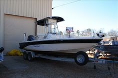 2011 NauticStar Boats NauticBay Boat 2400 Tournament Wedowee AL for Sale 36278 Bay Boats For Sale, Boat Design, Center Console, Boat Building, Fishing Boats, Flats, Loafers & Slip Ons, Convertible Fishing Boat, Flat Shoes
