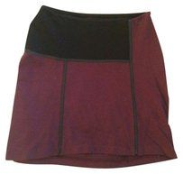 Twenty Mini Skirt burgundy small