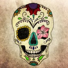 mexican skull wallpaper - Buscar con Google