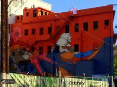 24 de marzo de 2014 - Parte II - Graffitti Edificio en el Expreso Luis Muñoz Rivera #1, con la Ave. Manuel Fernández Juncos, Santurce, PR 00907