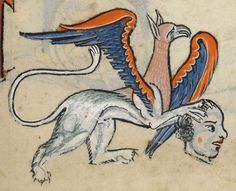 "Detail from ""The Rutland Psalter"", medieval (c1260), British Library Add MS 62925. f 59r"