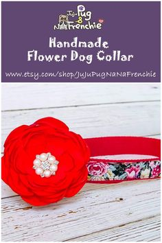 Items similar to Female Floral dog collar Flower, Large Girl dog collar accessories, New dog gift, Black Red Rose dog collar, Small Puppy Cotton dog collar on Etsy Boxer Dogs Facts, Boxer Puppies, Big Dog Costumes, Black Rose Flower, Dog Pin, Large Dog Breeds, Girl And Dog, Christmas Dog, Dog Harness