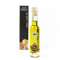 White Truffle Extra Virgin Olive Oil by Casa Rinaldi White Truffle, Truffle Oil, Whiskey Bottle, Vodka Bottle, Cold Dishes, Pumpkin Seed Oil, Argan Oil, Truffles, Earthy