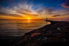 Znalezione obrazy dla zapytania zachody słońca morze