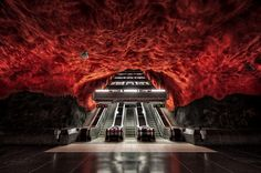 Belly of the Beast, Underground subway station, Stockholm, Sweden - Elia Locardi - Picasa Web Albums
