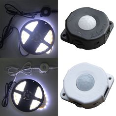 Influence control: Light Infrared PIR. 1 x PIR sensor(LED Strip Light and Cable not included). Load current : 6A,Max 60W. Sensor sensitivity distance: ≥5m. Sensor sensitivity angle: 140°. Super energy saving, super sensitivity within 5 meter distance.   eBay!