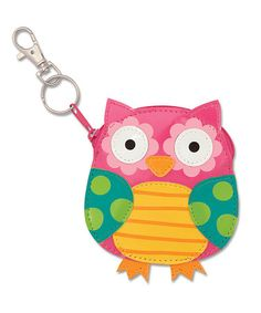 Look what I found on #zulily! Owl Key Chain Wallet Pouch #zulilyfinds