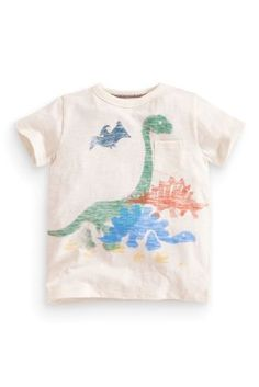 Buy Printed Dino T-Shirt (3mths-6yrs) online today at Next: United States of America