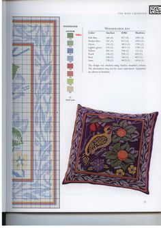 Gallery.ru / Фото #11 - Barbara Hammet - The art of William Morris in cross stitch - risau